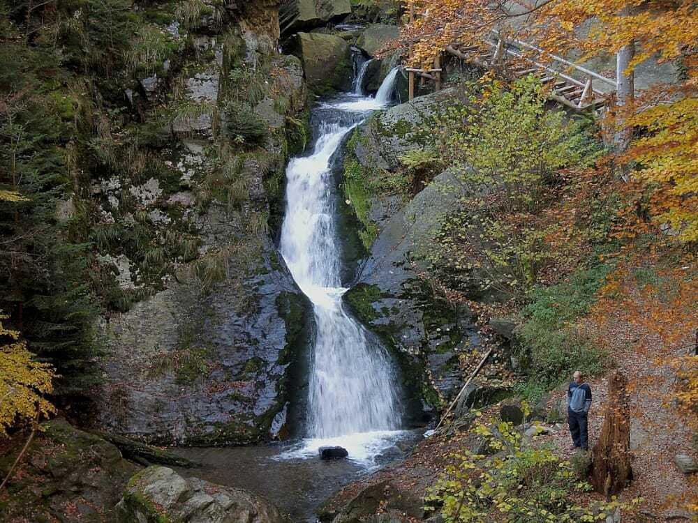Rešovské vodopády, hlavní vodopád