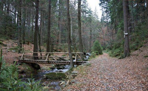 Cesta na Rešovské vodopády