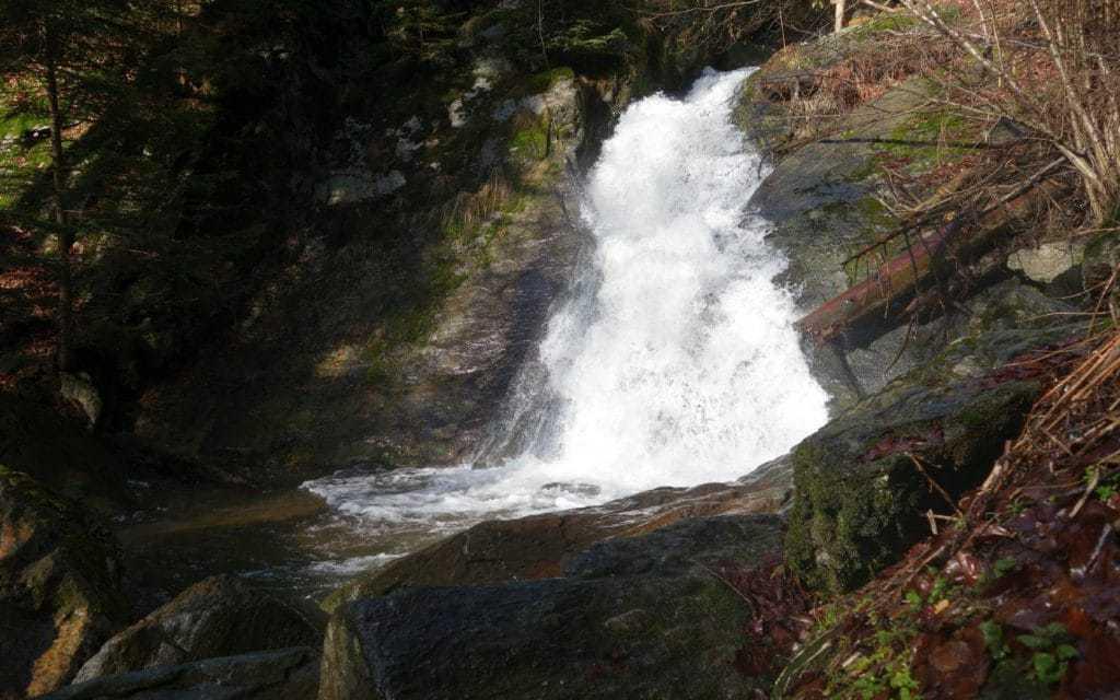 Vodopád Huntavy
