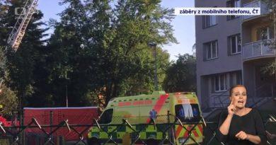 Při požáru domu v Bohumíně zemřelo deset lidí